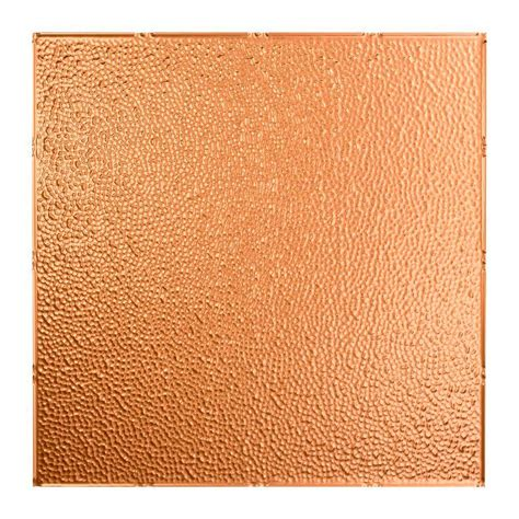 fasade ceiling tiles home depot fasade hammered 2 ft x 2 ft lay in ceiling tile in