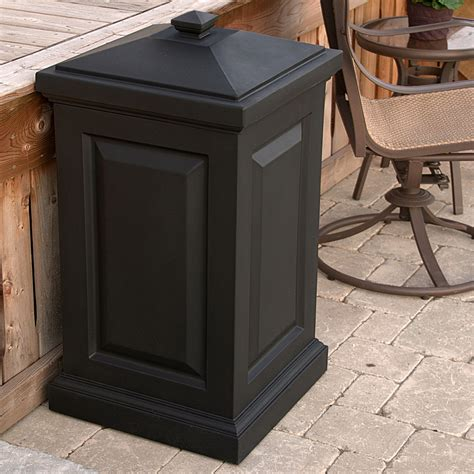 mayne berkshire storage bin outdoor trash cans at hayneedle