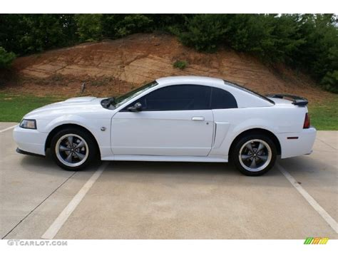2004 Ford Mustang Gt by Oxford White 2004 Ford Mustang Gt Coupe Exterior Photo