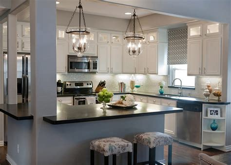 Kitchen Lighting : Light Up Your Kitchen And Add Decor Using Light Gray
