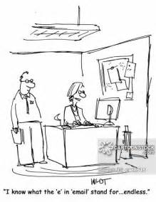 Email Business Communication Cartoons