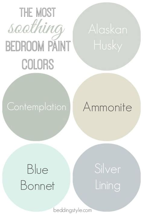 what is a soothing paint color for a bedroom the most soothing bedroom paint colors great guide
