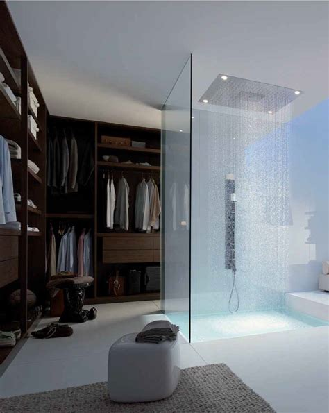 walk in closet with shower inside myhouseidea