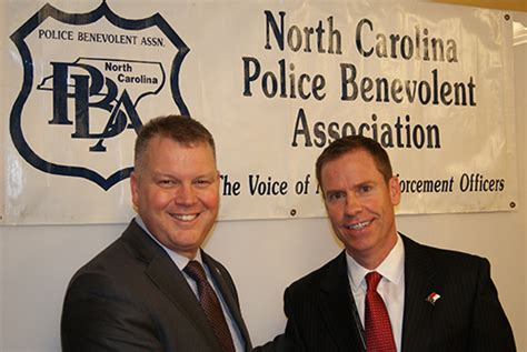 north carolina police benevolent association holds press