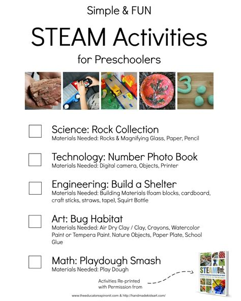 simple and steam activities for preschoolers the 122 | Preschool2BSTEAM2BActivities