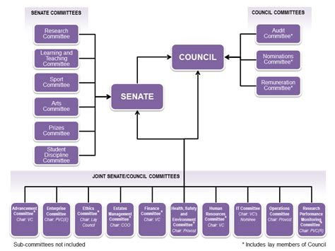 committee structure university committees loughborough