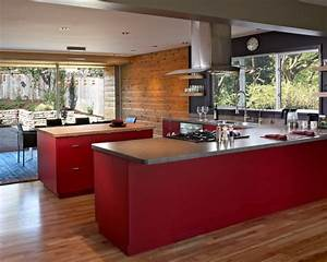 15 best mid century kitchens images on pinterest With best brand of paint for kitchen cabinets with lion head wall art