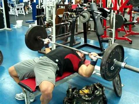 How Many Reps For Bench Press by 225 Lbs X 54 Reps Record Breaking Barbell Bench Press At