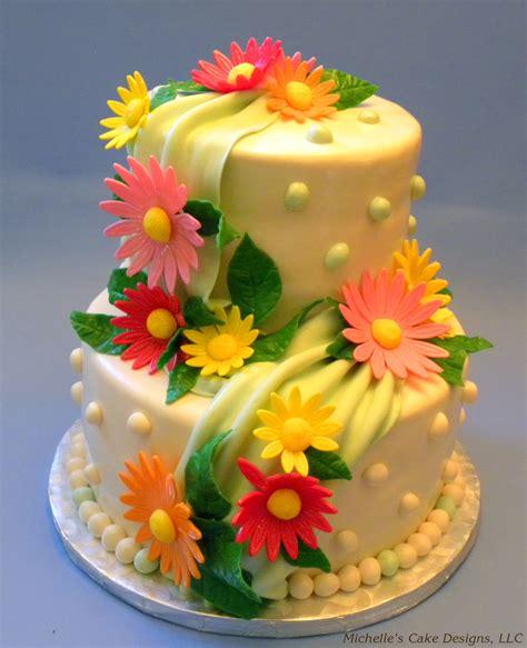 cakes decorated with flowers flower cake cake decorating community cakes we bake