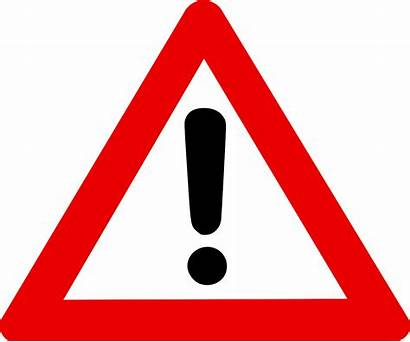 Caution Clipart Cliparts Clip Warning Sign Svg