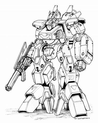 Robotech Robot Chuckwalton Mk Destroid Valiant Mecha