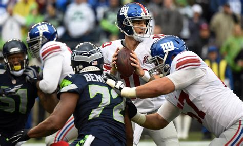 giants  seahawks time television radio