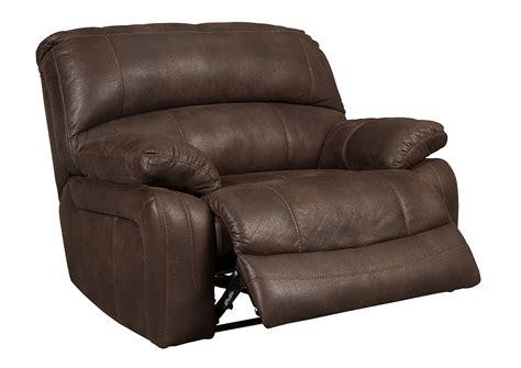 wide rocker recliner furniture world nw zavier truffle wide seat power recliner