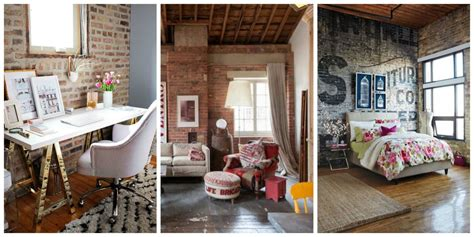 Exposed Brick: Two Ways : Exposed Brick Wall Decorating Ideas