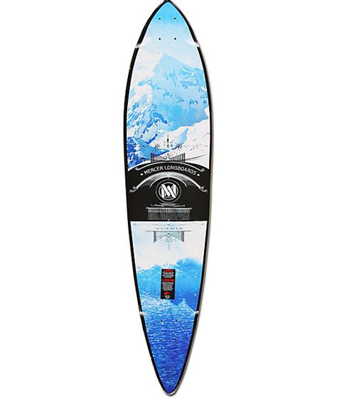 Pintail Longboard Deck Only by Mercer Forecast 42 Quot Pintail Longboard Deck At Zumiez Pdp
