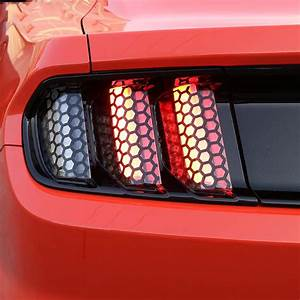 Car Exterior Accessories For Ford Mustang 2015 2016 2017 Tail Light Sticker Car Styling -in Car ...