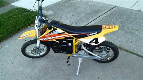 Me Riding My Razor Mx650 Dirt Bike #1