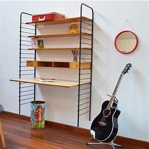 Etagere String Occasion : bureau tag re string vintage ~ Teatrodelosmanantiales.com Idées de Décoration