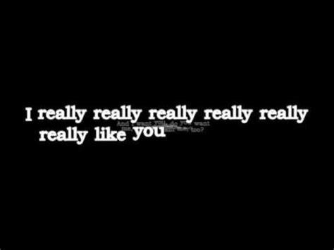 lyrics  karaoke carly rae jepsen
