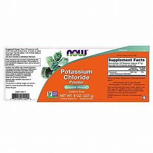 Now Potassium Chloride Powder  8-ounces