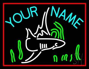 Custom Name Aquarium 1 Neon Sign