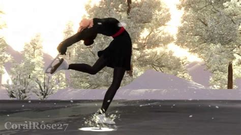 The Sims 3 Ice Skating (Quick Video). ☆ Merry Christmas ...