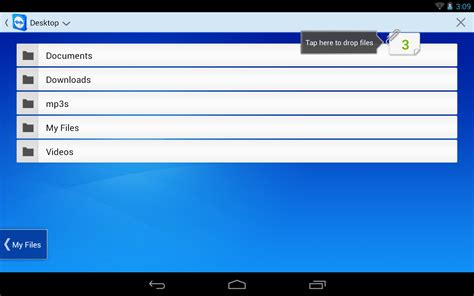android filetransfer teamviewer for android tablet