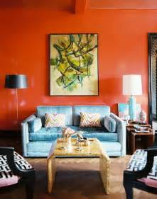 orange livingroom pics photos burnt orange living room color