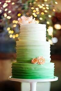 12 Ombre Wedding Cakes Qui Ont Du Charme Wedding Cakes