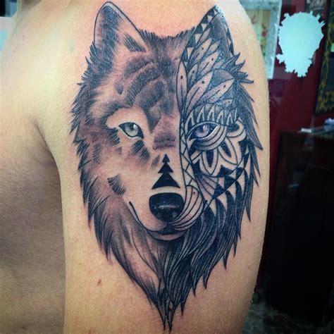 wolf tribal tattoo designs ideas design trends