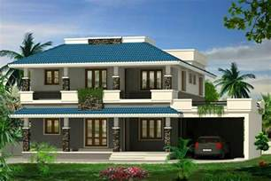 super double floor kerala house design 2239 sq ft