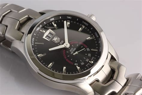 TAG Heuer Link Big Date Tiger Woods Limited Edition ...