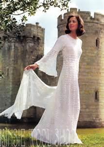 Vintage Crochet Wedding Dress Patterns