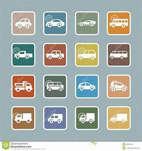 Auto Web : car icon set stock vector image 45930183 ~ Gottalentnigeria.com Avis de Voitures