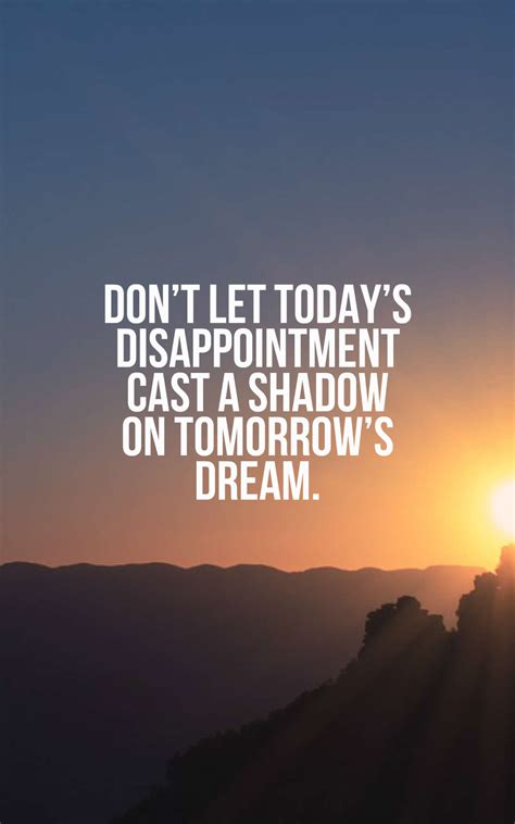 inspirational disappointment quotes  images