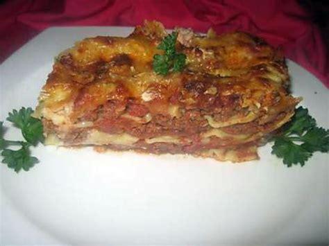 recette lasagne maison italienne recette de lasagne quot bolognaise quot maison par tatie