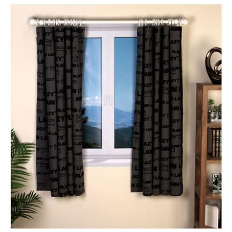 Black Bedroom Curtains by Plain Lazy Dj Bedroom Cotton Curtains Set 66 X 54 Quot Inches
