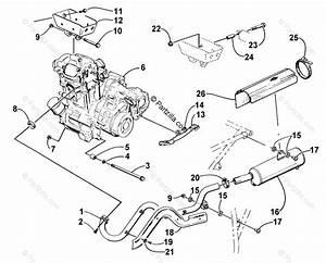 Arctic Cat Atv 1999 Oem Parts Diagram For Engine And