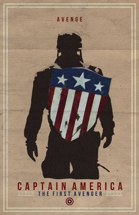 captain america film poster captain america films