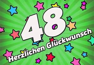 Geburtstag Männer Bilder : 48 geburtstag gl ckw nsche und spr che ~ Frokenaadalensverden.com Haus und Dekorationen