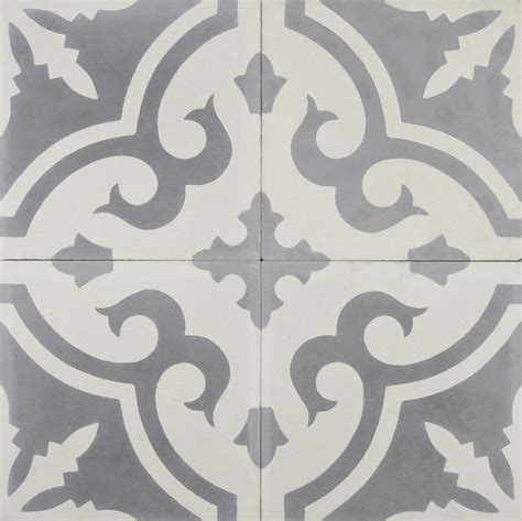 gray cement tile moroccan cement tile zoco home 1315