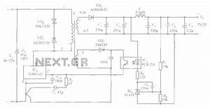 5v    2a Isolated Switching Power Supply Circuit Diagram