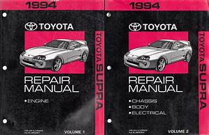 1989 Toyota Supra Service Shop Repair Set Oem Service And The Wiring Diagrams The Service Covers The Chassisbodyelectricalenginespec