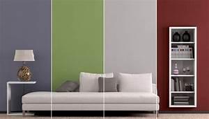 Wand Farbig Streichen Ideen : wand streichen ideen f r muster farben streifen ~ Lizthompson.info Haus und Dekorationen