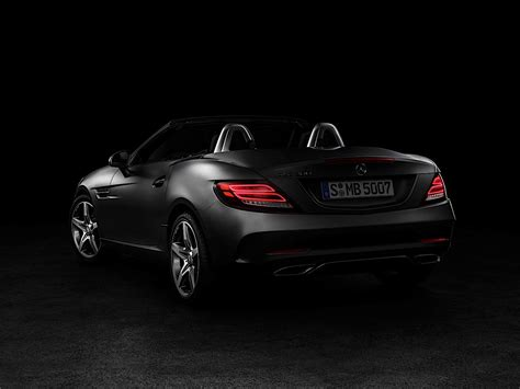 Mercedes Slc Class Backgrounds by 2017 Mercedes Amg Slc 43 Sights And Sounds Autoevolution