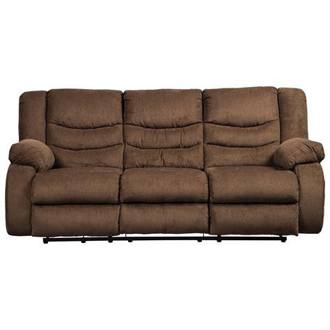 ashley furniture reclining sofa ashley signature design tulen 9860588 contemporary