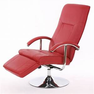 Moderne Relaxsessel : relaxliege relaxsessel ascoli ii rot leder ebay ~ Pilothousefishingboats.com Haus und Dekorationen