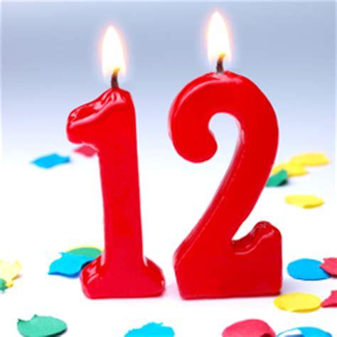 bulk candle 12th birthday simeworld