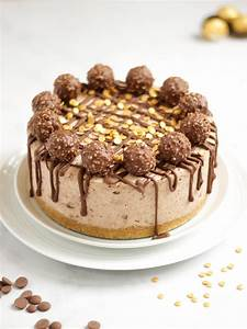 Ferrero Rocher Cheesecake - Easy, No Bake Recipe!