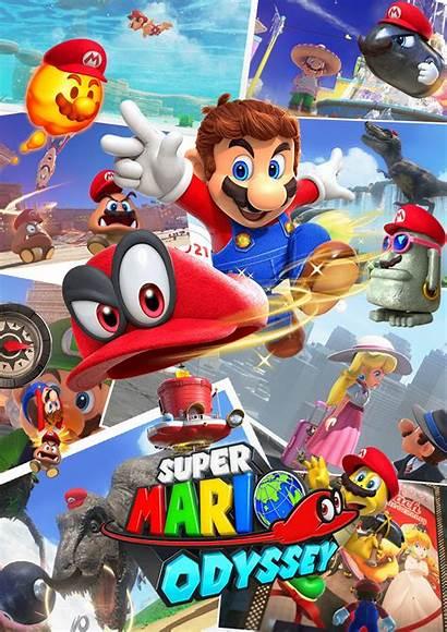 Mario Odyssey Super Poster Deviantart Own Favourites